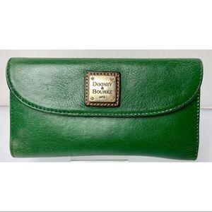 Hunter Green Leather Dooney & Bourke Wallet
